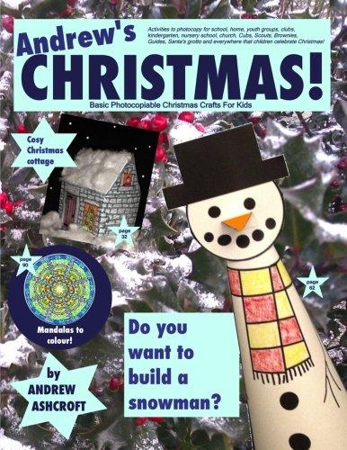 Christmas Basic Photocopiable Christmas Crafts For Kids Activities