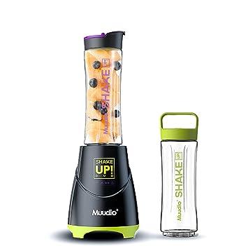 Licuadora De Jugo Eléctrico - Botella De Exprimidor Portátil Mini Viaje Mezclador De Hielo De Fruta