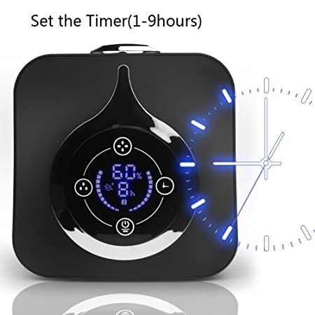 12-26 Working Hrs Sleep and Auto Mode Timer OPOLAR Cool Mist Digital Ultrasonic Humidifier for Baby and Bedroom,4 L//1.05 Gallon Preset Humidity 3 Mist Modes Quiet Operation Filter-Free