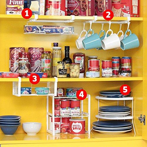 5 Pieces Set for Cabinet Organizer (Cabinet Organizer Set)