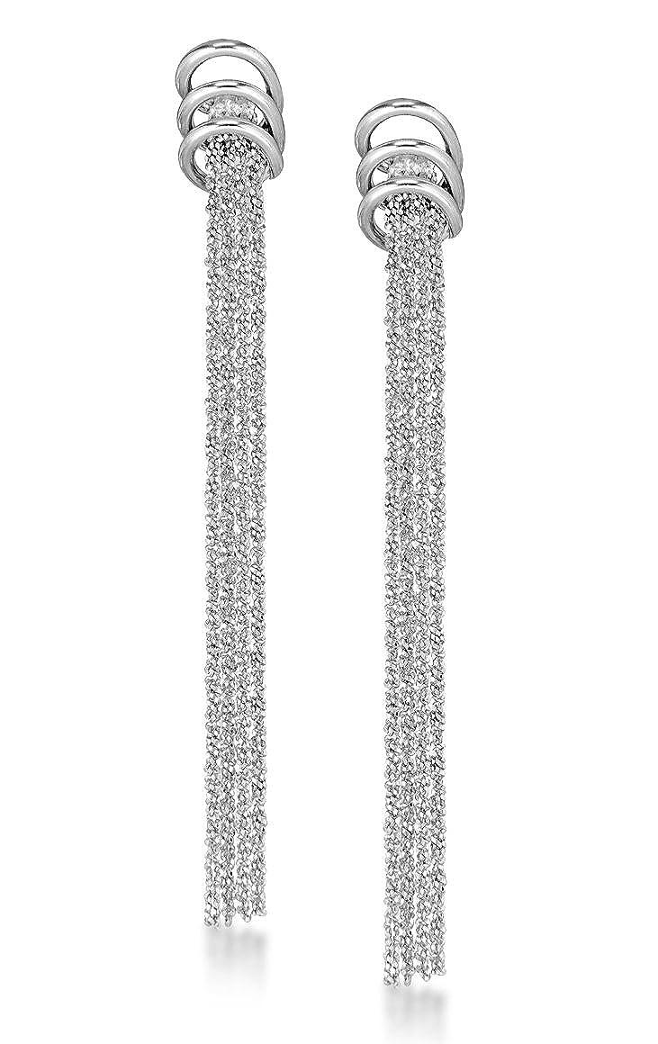 54.2119 cod Orecchini Pendenti da Donna in Argento Sterling 925 Tuscany Silver