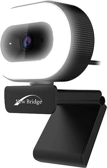 Amazon Newbridge ウェブカメラ フルhd 1080p Ledライト付き 小型 軽量 Webカメラ 内蔵マイク在宅勤務 リモートワーク Pcカメラ Nb 05 ニュー ブリッジ New Bridge パソコン 周辺機器 通販