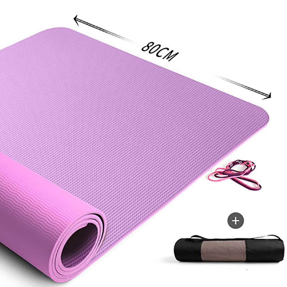 LHFFCt Yogamatte Rutschfest DüNn Schadstofffrei, Rutschfest, weiche Meditationsmatte, Gymnastikmatten Rutschfest Schadstofffrei. Pilates