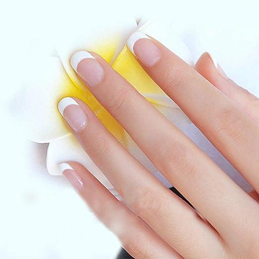 Saviland Dip clavos en polvo, manicura natural de uñas artificiales sin lámpara: Amazon.es: Belleza