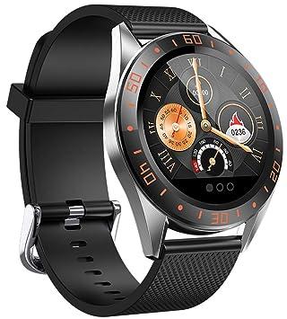 jpantech Smartwatch Reloj Inteligente Pulsera Actividad con Pulsómetro Podómetro Calorias Monitoreo del sueño Impermeable Reloj Inteligente Mujer ...
