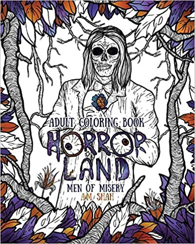 Epublibre Descargar Libros Gratis Adult Coloring Book: Horror Land Men Of Misery (book 3): Volume 3 Formato Kindle Epub