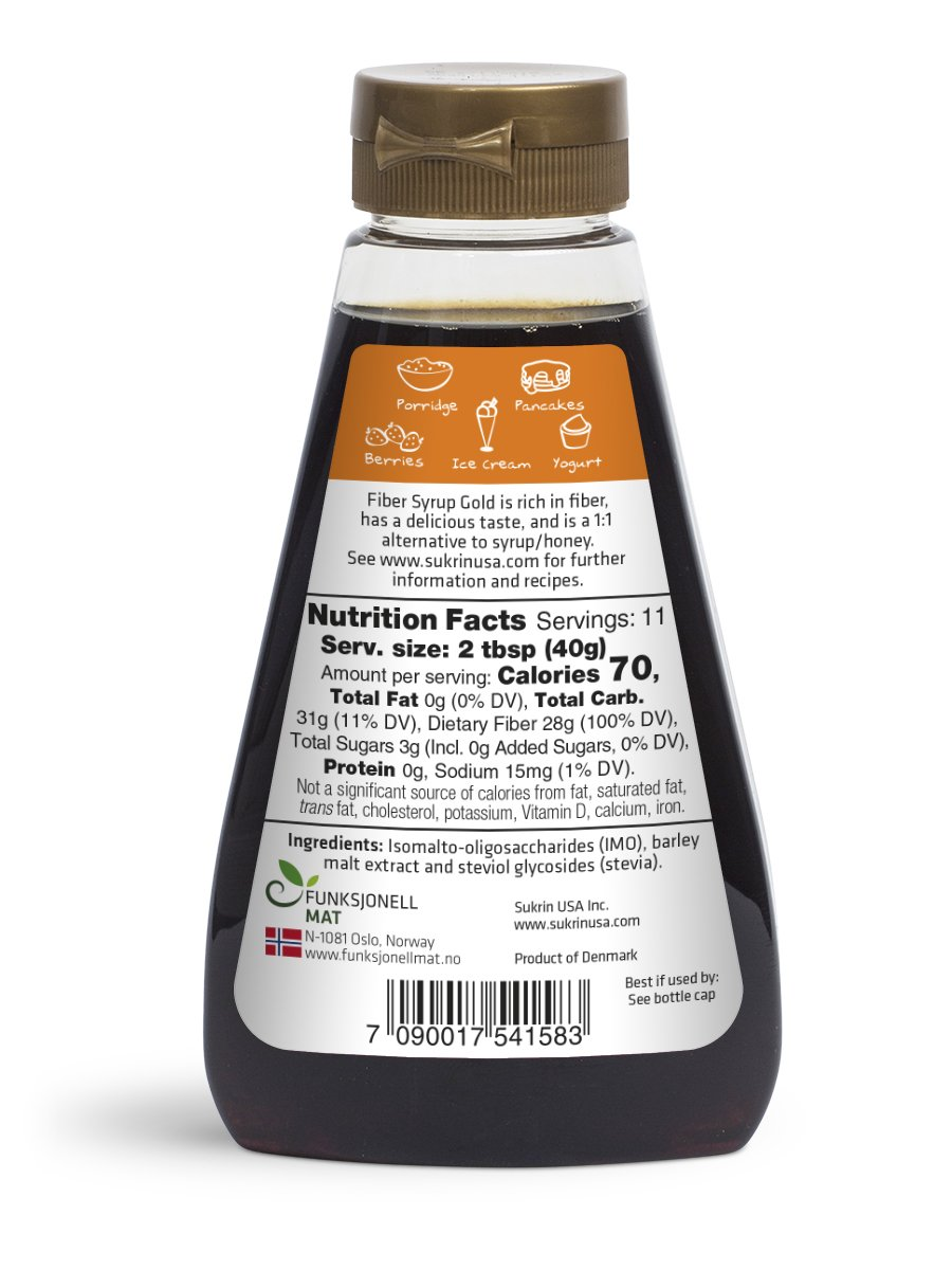 Sukrin Fiber Syrup Gold - 3-pack by Sukrin (Image #2)