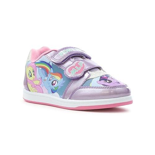 My Little Pony - Zapatillas de Material Sintético para niña, Color Morado, Talla 23,5 EU Niño: Amazon.es: Zapatos y complementos