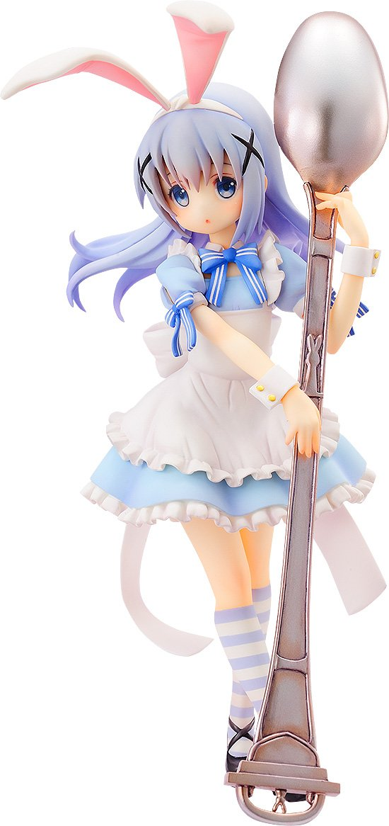 Aquamarine is The Order A Rabbit Chino (Alice Version) 18 Scale PVC Figure AUG168128