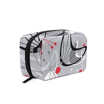 05e1754a02d6 Retro Toaster Oven square cosmetic bag compartment ... - Amazon.com