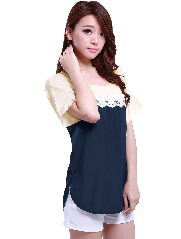 Allegra pantalones de deporte para mujer K Color patrones de costura para camisas de manga corta para mujer y de bellos colores bloque de con instrucciones ...