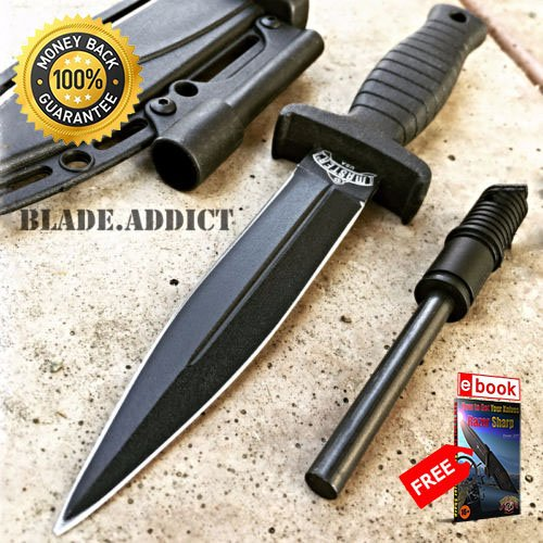 7'' Double Edge Military Tactical Hunting Dagger Boot for sale  Delivered anywhere in USA