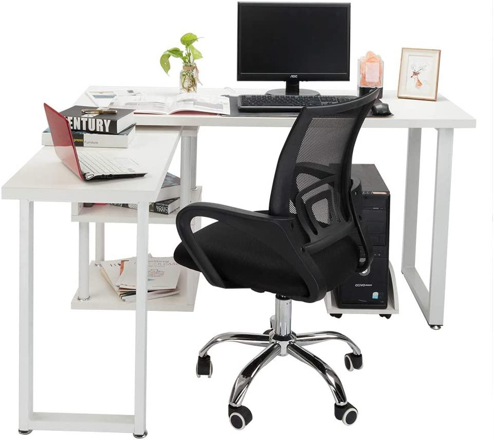 Lift Adjustable Computer Office Swivel Chair wang JESS Office Chair Ergonomic Office Adjustable Mesh Swivel Task Chair with Rolling Wheels