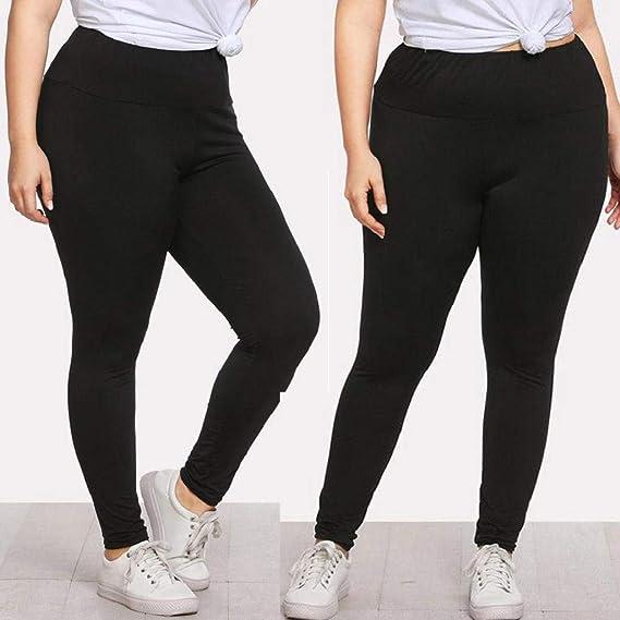 QUICKLYLY Yoga Mallas Leggins Pantalones Mujer, Moda Tallas ...