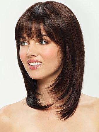 Shoulder Length Medium Length Layered Straight Hair 69