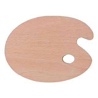 IPOTCH Farben Malpalette Oval Mischpalette Pinsel Malen K/ünstler Kunst Zubeh/ör Rosa