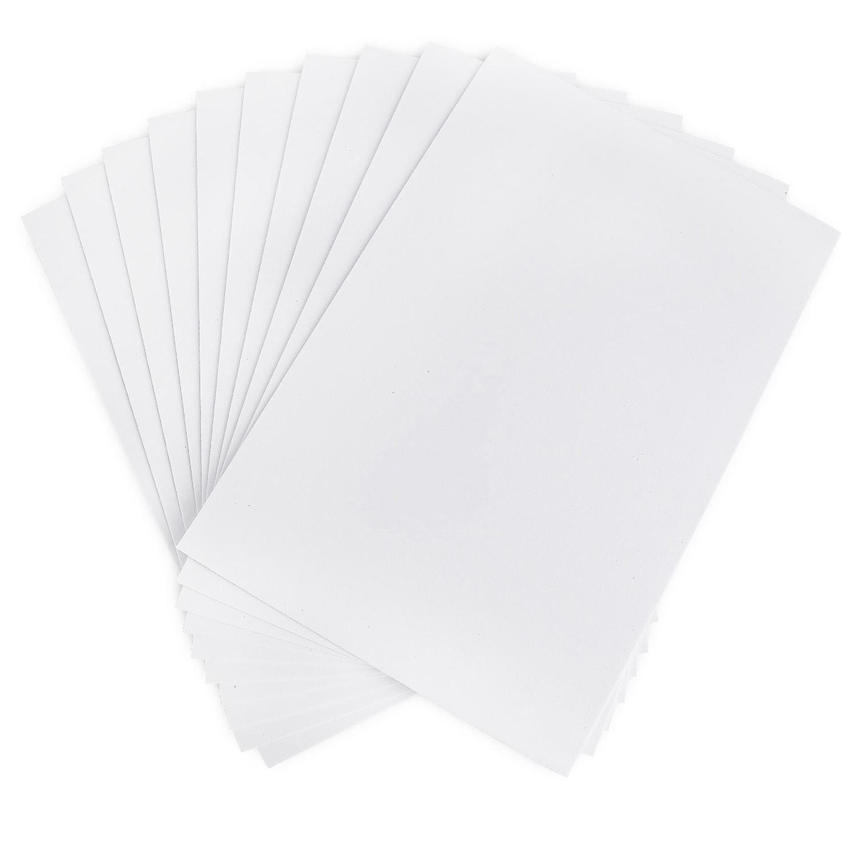 Kraftz® , confezione da 10 fogli bianchi in formato A4 autoadesivi in schiuma EVA per creazioni artigianali, casa, ufficio, feste, fai-da-te KRAFTZ®