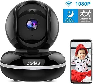 Camara Vigilancia WiFi Interior, Camara Vigilancia Bebe con Audio Bidireccional| Alerta de Movimiento| Servicio de Nube|Seguridad WiFi FHD1080p| Compatible con iOS/Android: Amazon.es: Bricolaje y herramientas