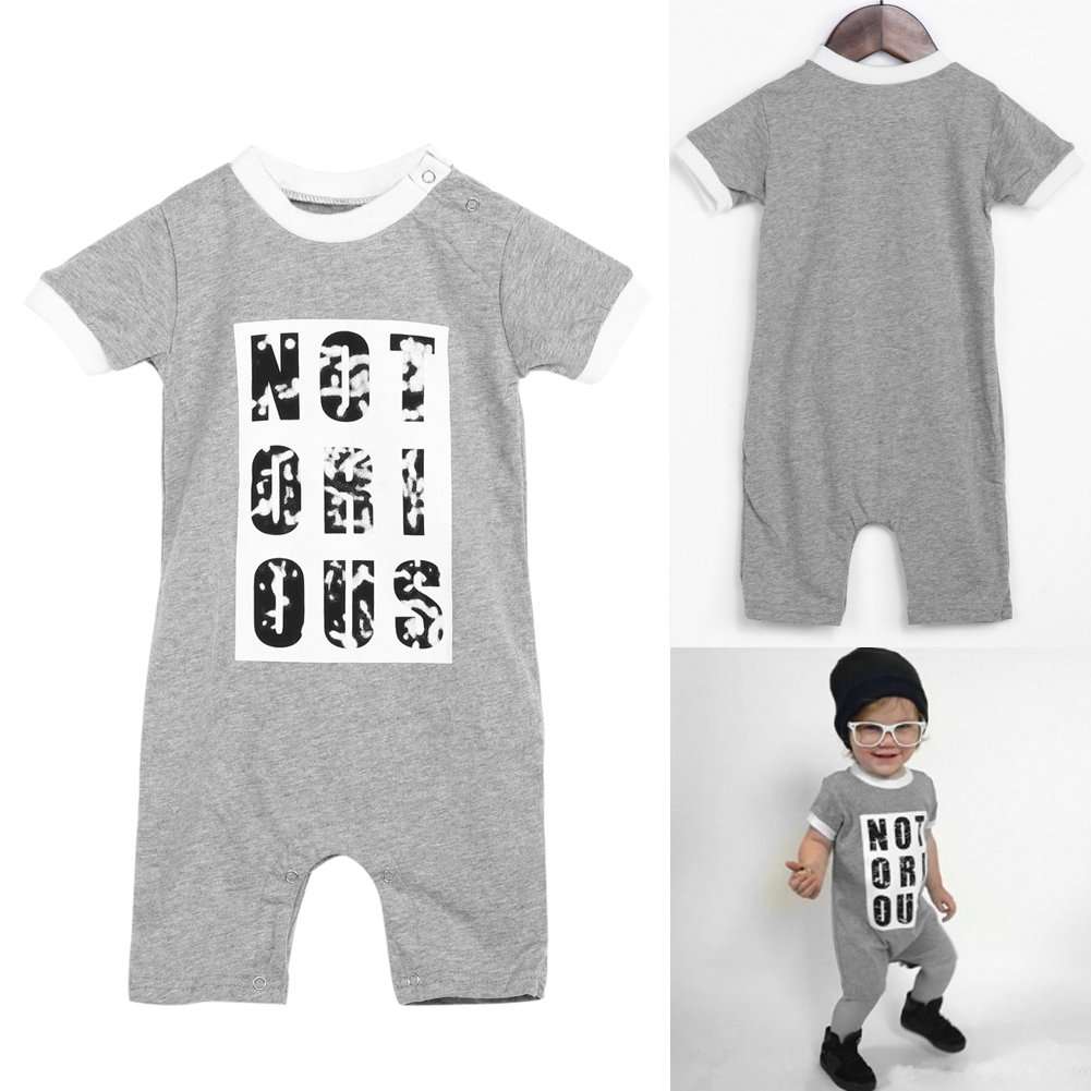Iainstars 2018 Baby Boys Girls Bodysuit Rompers Jumpsuit Outfits Summer Clothes
