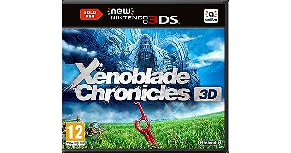 Nintendo Xenoblade Chronicles 3D, New 3DS - Juego (New 3DS, Nintendo 3DS New, RPG (juego de rol), T (Teen)): Amazon.es: Videojuegos