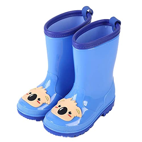 8d26b4051f1aa JiAmy Girls' Rain Boots Waterproof Rain Wear Anti-Slip Rain Shoes