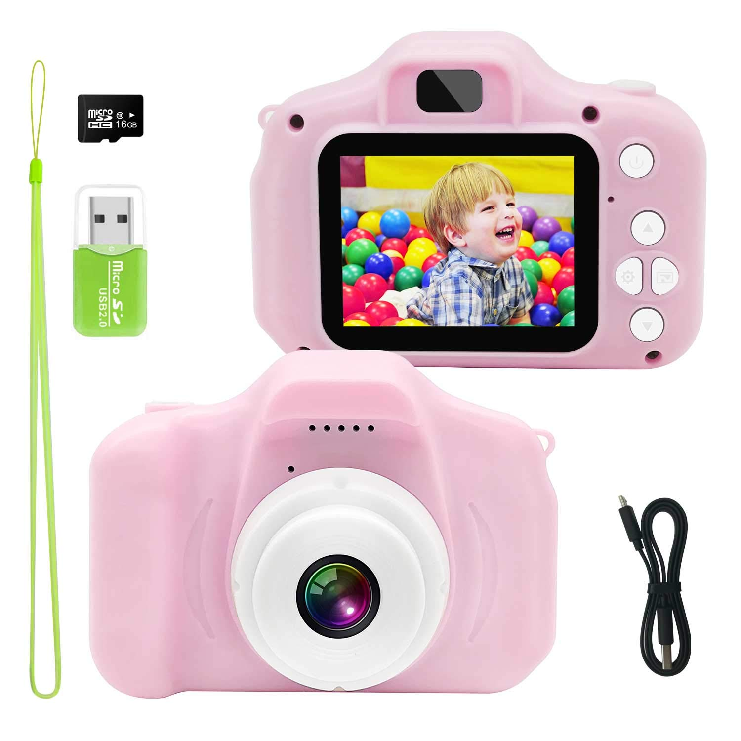 Kids Camera, Suitable Camera for Girls is Also a 5 Year Old Girl Gifts by Gretex (Image #1)