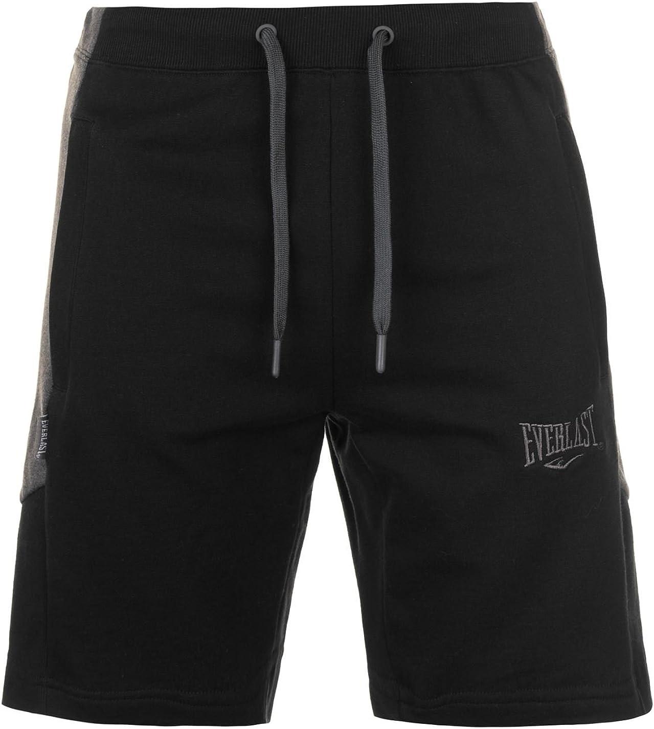 Everlast - Pantalón Corto - para Hombre Multicolor Negro y Gris XX ...