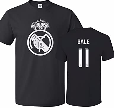 Amazon.com  Tcamp Real Madrid Shirt Gareth Bale  11 Jersey Men T ... f11850138