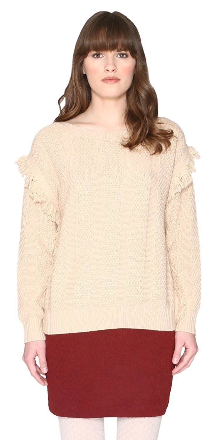 Pepa Loves Damen Pullover Fringe