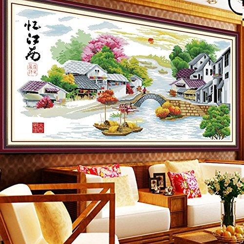 YanFa Cross stitch Point de Croix Style Chinois C0150 Paysage