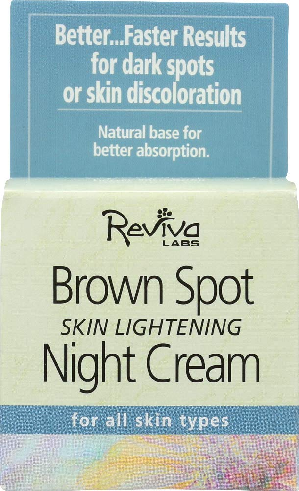 Reviva Labs (NOT A CASE) Brown Spot Skin Lightening Night Cream