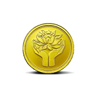 MMTC-PAMP India Pvt. Ltd. Lotus series 24k (999.9) purity 2 gm Gold Coin