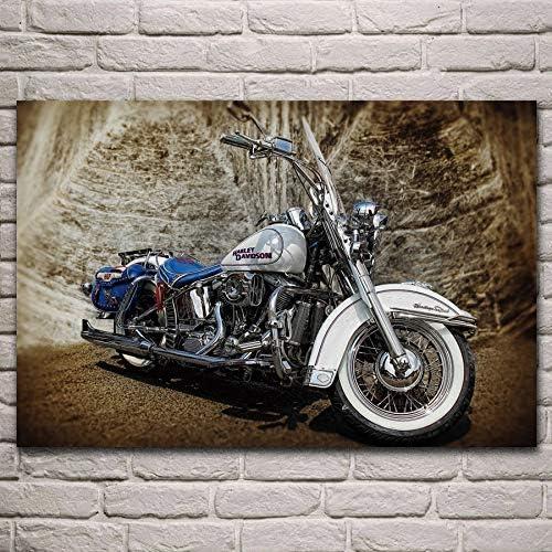 Fdgdfgd Beautiful Classic Beautiful Elegant Motorcycle Living Room Decoration Home Art Decoration Poster Amazon De Kuche Haushalt