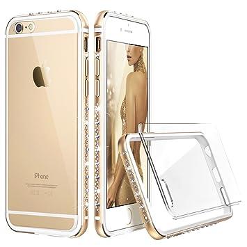 9e7961a2f6 iPhone6s ケース クリア ESR iPhone6 ケース おしゃれ キラキラ 高級感 ソフトバンパー 傷防止バックカバー