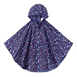 Product review for Spring fever Children Hooded Rain Poncho Reusable Fashion Portable Lightweight Raincoat