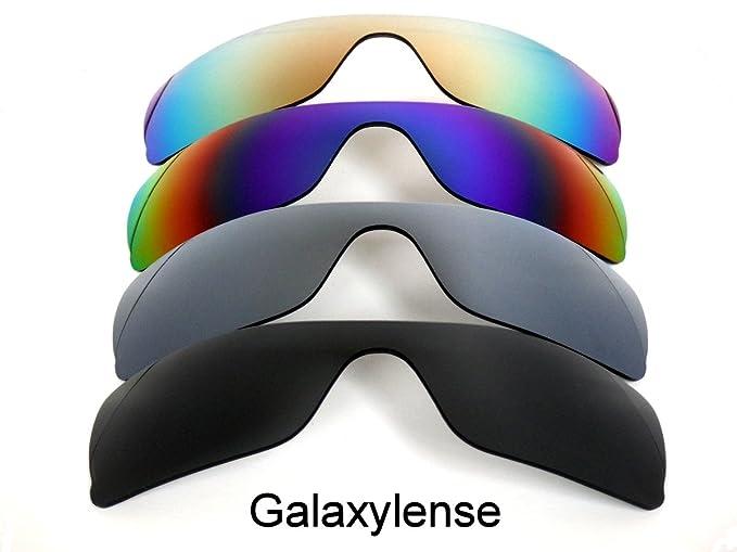 Galaxylense lentes de repuesto para Oakley Batwolf negro y gris y verde y rojo Color Polarizados