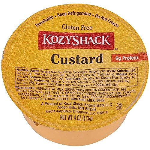 Kozy Shack Custard, 4 Ounce -- 48 per case. ()