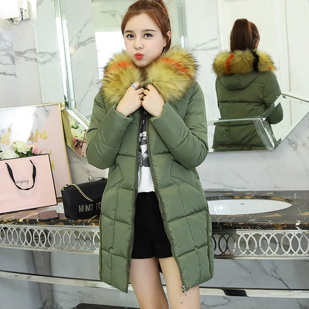 Frauen Winter warm Faux Pelz Kapuzen kurz schlanke Baumwolle
