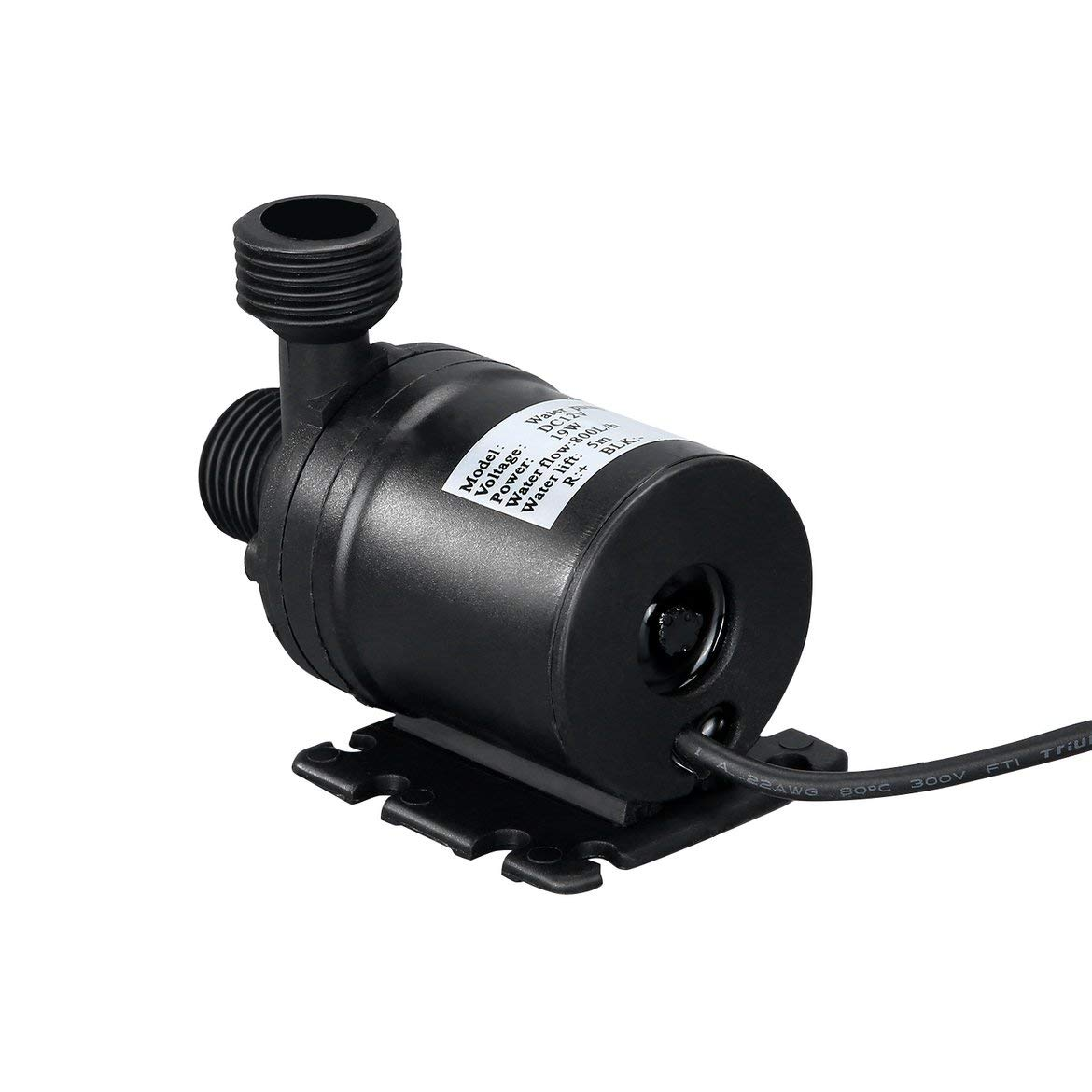 nero H Brushless Motor sommersa Pompa acqua filo multifunzione acqua Professionale Mini Whisper DC 12 V lift 5 Mt 800L