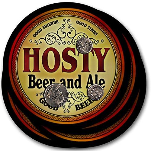 Hosty Beer & Ale - 4 pack Drink Coasters