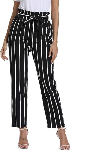 Zamke Kostana Srz Crta Pantalones De Rayas Mujer Bernardcharpenel Com