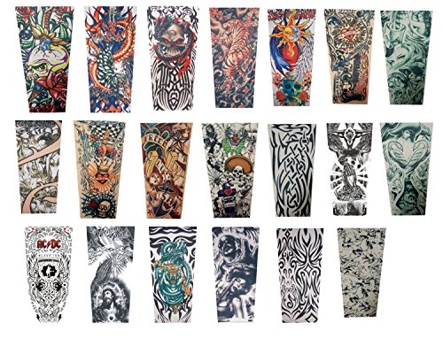 Efivs Arts Xt Series Classic Temporary Fake Tattoo Arm Sl...