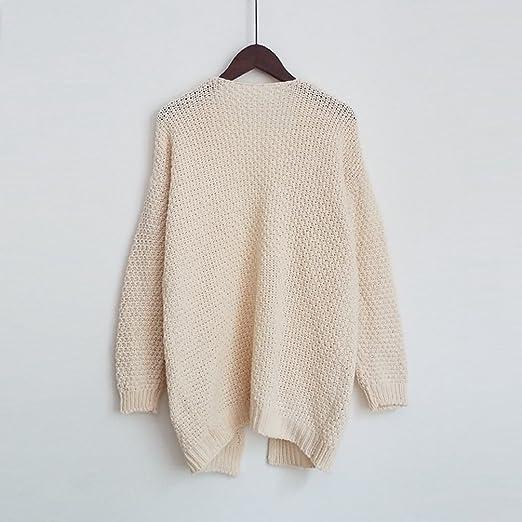 YOUJIA Femmes Câble Cardigan Gilet a Macnhes Longues Pullover Jacket en  Tricot Sweater Veste Pull avec Poche (Beige, CN L)  Amazon.fr  Vêtements et  ... 0af9e73792e2