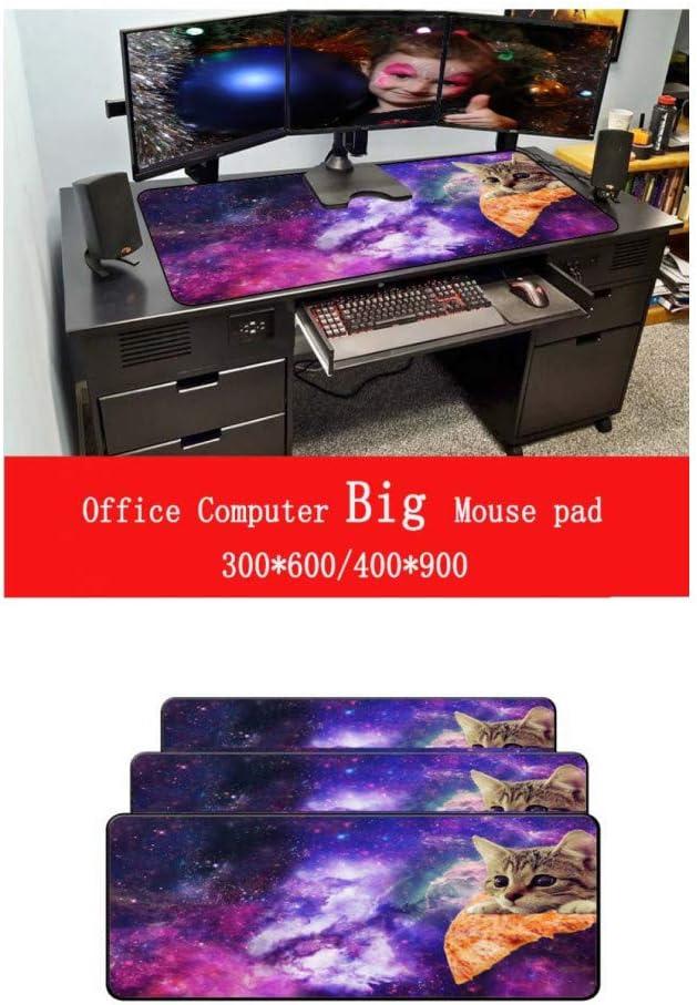 WHFDSBDLarge Mouse Pad Pc Computer Mat Size for 4009003 Mm Mousepad Mice Mat Precision Lock Edge