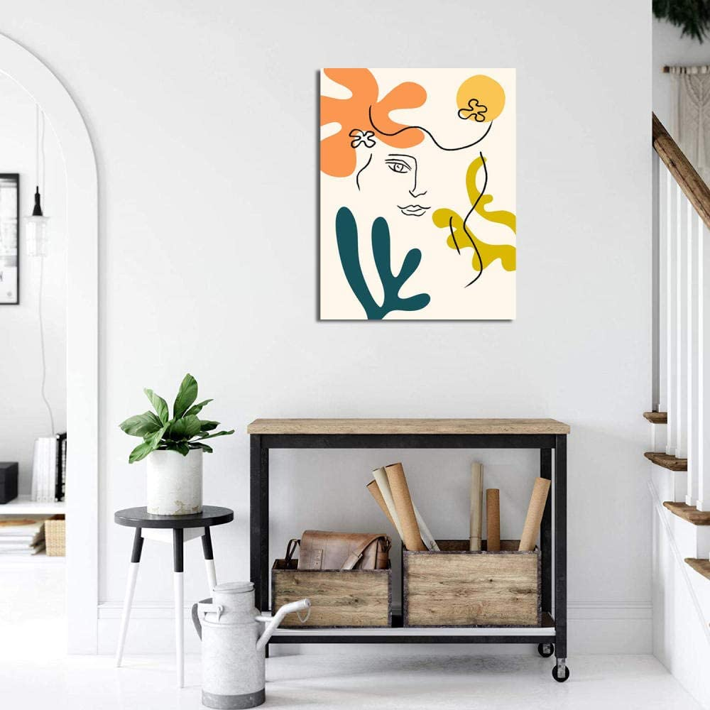 ID: 111017 Wall Art inspired by Henri Matisse The Afternoon vinyl wall decal for your livingroom and bedroom wall art decor