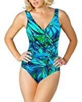 Miraclesuit Ladies' Swimsuit - Blue & Green, Size 10