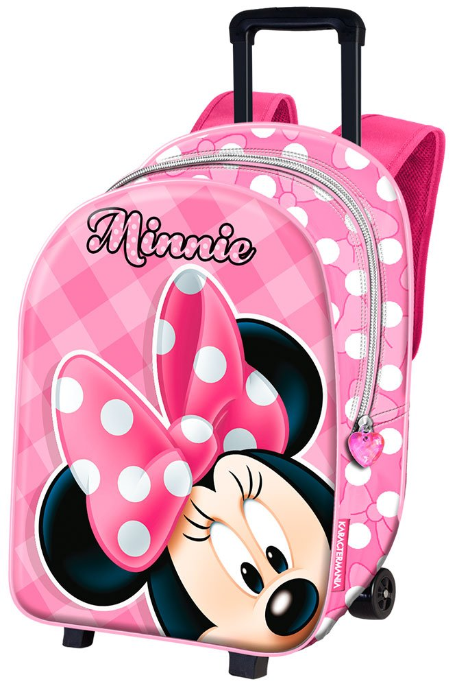 ARDITEX - WD9583 - Trolley Cartable à Roulettes - Minnie Mouse - 24 x 36 x 01cbc4a7a062