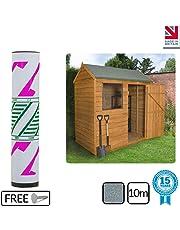 Ashbrook Roofing Super Grade Shed Felt | Polyester Reinforced Felt |15 Year Life Expectancy | 10m (Green)