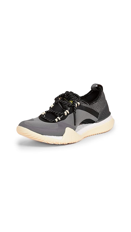 Image of adidas by Stella McCartney Women's Pureboost X TR 3.0 Sneakers, Stone/Granite/Mist Sun, Grey, Black, 6.5 M UK Road Running
