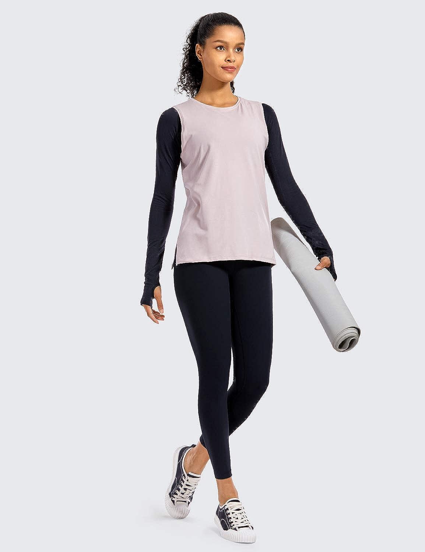 25 Inches CRZ YOGA Women Matte Brushed Light Fleece Leggings Athletic High Waisted Squat Proof Yoga Pants